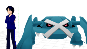 [MMD] Metagross RIGGED download by PaopuFruitLover