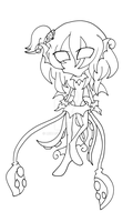 Lluviadite lineart Two (Raffle Draw Prize) by Mikage-YoshinoAnerin