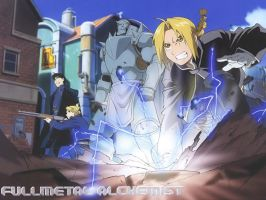 Full Metal Alchemist Wallpaper by Cloud-sr