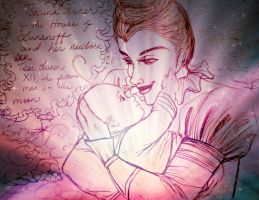 Tsarina Lunanoff and Her Darling Prince by MoonClipperStowaway