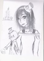 Gothic Lucy by JessicaL98000