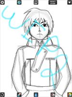 WIP 2 - Colonel Roy Mustang by handcuffs4ever