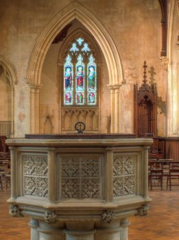 Booton Church font by poemagraphic