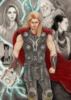Thor Odinson - The God by danielfoez