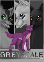 Greyscale front cover by cutetoboewolf