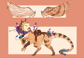 OwlDesignCommission by SilverPocky