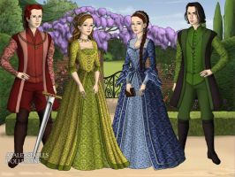 The Four Founders by Saoirse-Rose