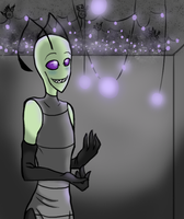 Contest Entry: Fireflies by 96Alexchan