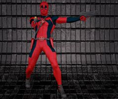 Deadpool 2nd skin textures for M4 by hiram67