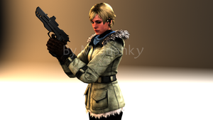 Sherry Birkin RE6 by mr-juanky