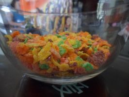 Roller Coaster Colored Cereal by CaptainSpinFiction