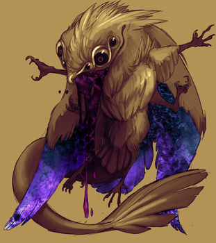 Monster: Mystical Potoo by Endivinity