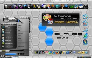 future sound windowblind by coolcat21