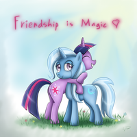 Friendship is Magic by wdeleon