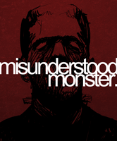 misunderstood monster. by Pixelated1