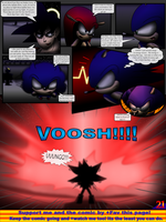 Sonic the Hedgehog Z #8 Pg. 21 July 2014 by CCI545