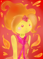 Admire The Power Of The Burning Flames! by cornelia892