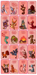 Pokemon Valentine's Day Cards by Cryptid-Creations