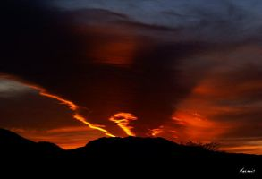 Southwestern Sunset by digitalabstract