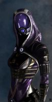 Tali'Zorah - Mass Effect by TheSig86