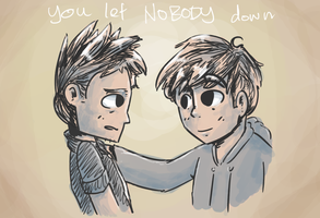 sort of doodle thing for tom by coolgaltw
