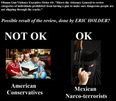 Eric Holder on 'prohibited persons' by LonelyImmortal
