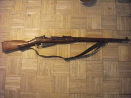 Soviet 1933 Mosin-Nagant Rifle by MiGpilot25