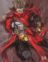 Vash the Stampede by bulletproofturtleman