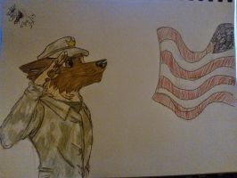 Army Furry by drawing1222