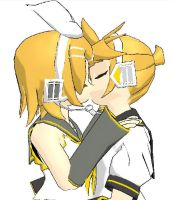 Kagamine Kiss by Selvira