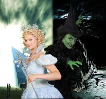 Elphaba and Glinda by IncrediblyWicked