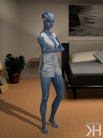 Liara Hospital Clothes (XPS) by Grummel83