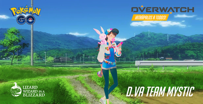 Dva from Overwatch and Pokemon Go by Beyond-BrendaBB