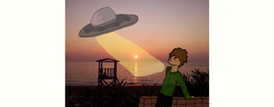 Sun-watching Aliens by fuudgiee