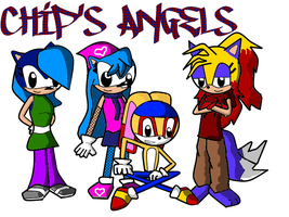 Chip's Angels by SkecthKid