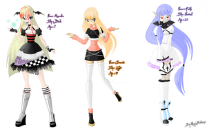 My others winx characters by MagiaBelievix