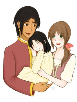 Family Picture by IndiaofAsia