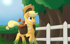 Apple Harvest by TheBatFang