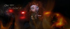 Elemental Lessons : Merida by 1JoyDreamer