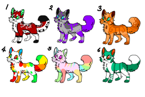 Feline Adoptables-OPEN! by HopexShade-Adopts