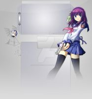 Angel Beats - Angel With A ShotGun - Youtube BG by HinamoriOfficialAmu