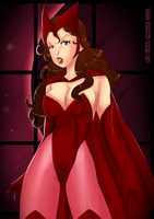 10 USD Scarlet Witch by lufidelis