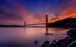 Fort Baker Bridge in California by eds-danny