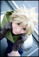 Cloud Strife - Back then by Evil-Uke-Sora