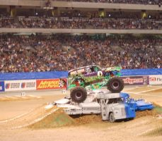 Grave Digger on top by JMS2007