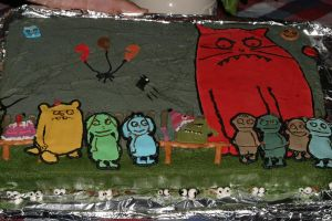 fiends cake by toastles