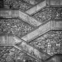 Castle Stairs by lesterlester