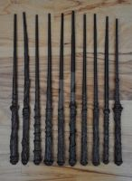 Homemade Hogwarts Letters and Wands -wands- by FarTooManyIdeas