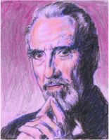 Christopher Lee as the Count by mozer1a0x
