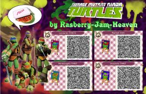 Teenage Mutant Ninja Turtles qr codes by Rasberry-Jam-Heaven